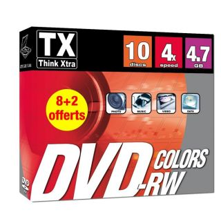 Tx DVDTX47B10 RWC   Achat / Vente CD   DVD   BLU RAY VIERGE Tx