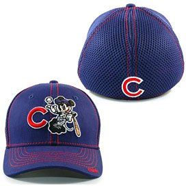 Chicago Cubs Mickey Mouse Toddler Child Flex Fit Cap