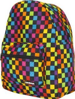 YAK PAK Multi Checkerboard Backpack: Shoes