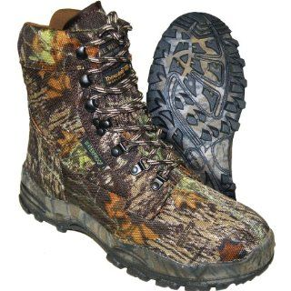 Mossy Oak Camo Waterproof Insulated Hunting Boot   Size 8.5 Shoes