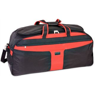 McKlein Red/ Black 35 inch Nylon Multi purpose Duffel Bag