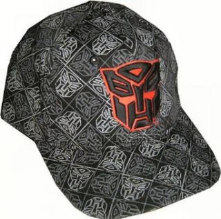 Transformers 3 D Autobot Logo Hat: Clothing
