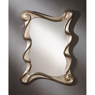Rectangular 35 inch Light gold Premium Mirror