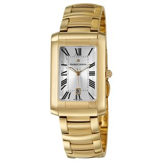 Maurice Lacroix Mens Yellow Gold plated Miros Watch