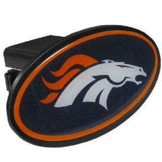 Denver Broncos Oval Trailer Hitch Cover (For 2 Receivers