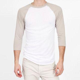 American Apparel Unisex Baseball Raglan Shirt Size XL