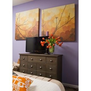 Sean Jacobs Autumn Shade II Wrapped Canvas Art
