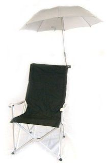 Deluxe Folding Sun Chair with Umbrella