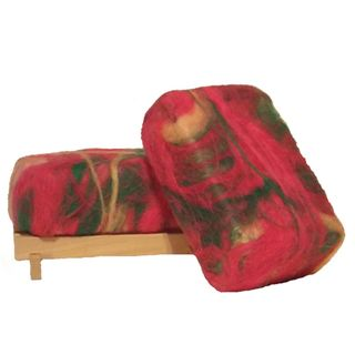 Softwater Soapworks Cucumber Melon Felted Soap Bar