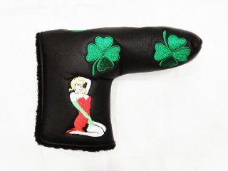 Green Shamrock Clover Sexy Pin up Girl Limited Edition