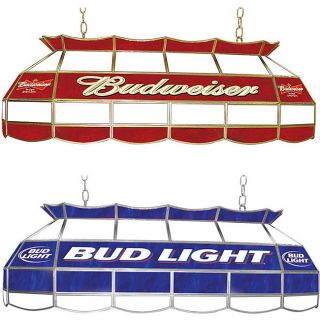 Licensed Beer 40 inch Tiffany style Stained Glass Light
