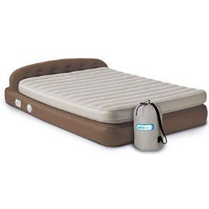 AeroBed Hi Rise Premium Queen Headboard Airbed with