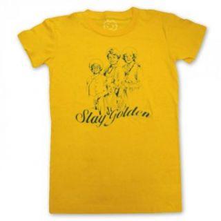 Golden Girls Stay Golden Womens Junior T Shirt, Large