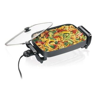 Hamilton Beach 38530R Nonstick Electric 12x15 inch Skillet