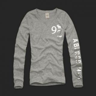 Abercrombie & Fitch Long Sleeve Alice   Heather Grey (S