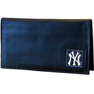 MLB New York Yankees Leather Checkbook Cover Sports