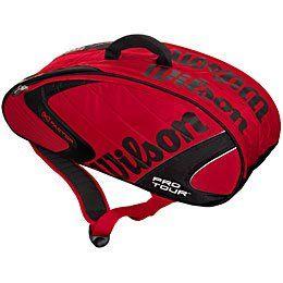 Wilson Pro Tour 6 Pak Squash Bag: Sports & Outdoors