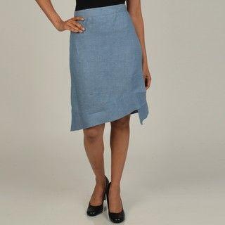 Vivienne Vivienne Tam Womens Asymetrical A line Skirt