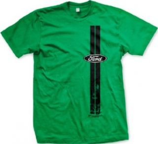 Ford Vertical Stripes Mens T shirt, Officially Licensed