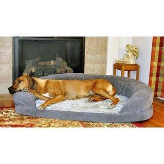Manufacturing Extra Large Orthopedic Bolster Velvet Pet Bed