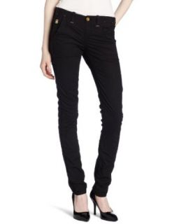 G Star Womens Correct Line Page Chino Tapered Pant, Black