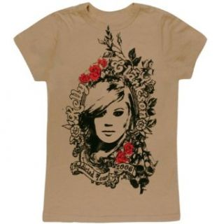 Kelly Clarkson   Roses Juniors T Shirt   Large Clothing