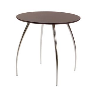 Euro Style 30 inch Wenge Round Bistro Table