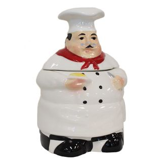 Plump Chef 4 piece Kitchen Canister Set