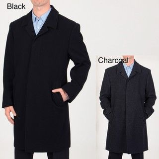 London Fog Mens Coventry Wool blend Top Coat