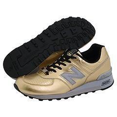 New Balance Classics 576   Metallics Gold Athletic