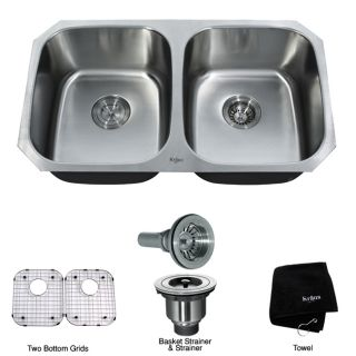inch Undermount Stainless Steel 16 gauge Kitchen Sink