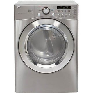 LG 7.4 cubic foot Titanium Electric Clothes Dryer