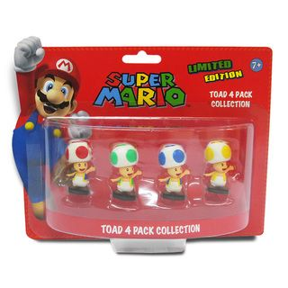 Super Mario Brothers 2 inch Toad Mini figure Set