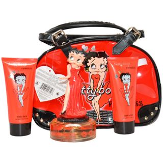 Betty Boop Princess Womens 4 piece Gift Set