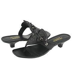 Franco Sarto Delegate Black Sandals