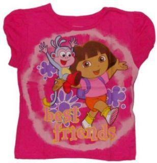 Nickelodeon Dora the Explorer Little Girls Cap Sleeved T