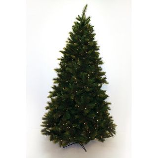 Good Tidings Full PVC Crofton Fir 400 Clear 1287 Tips 53 inch Diameter