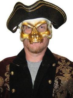 Venetian Skull Face Mask Clothing