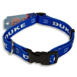 DUKE BLUE DEVILS OFFICIAL LOGO DOG COLLAR SZ L Sports