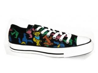 Chuck Taylor Grateful Dead Jerrys Bears Black Lo mens 12: Shoes