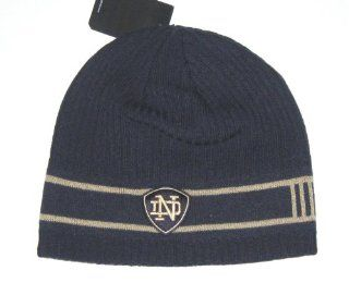 Notre Dame Fighting Irish NCAA Adidas Double Stripe Knit