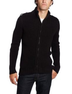 Calvin Klein Jeans Mens Long Sleeve Full Zip Sweater