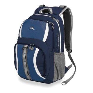 High Sierra Garrett Blue Velvet Laptop Backpack