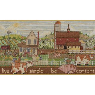 Simple Be Content Counted Cross Stitch Kit Today $22.99