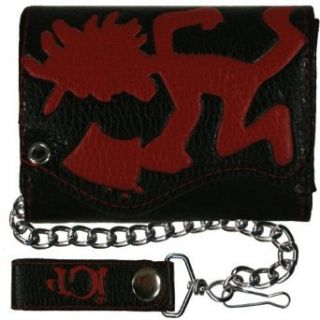 Insane Clown Posse   Large Hatchetman Leather Wallet with