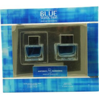 Antonio Banderas Blue Seduction Mens 2 piece Fragrance Set