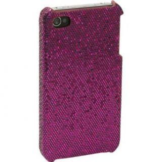 Sumdex Sequin Glitz Apple iPhone 4 Case (Purple) Clothing
