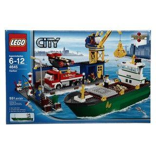 LEGO City Harbor Toy Set (4645)
