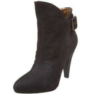 Cynthia Vincent Womens Korina Boot,Black,5.5 M US Shoes