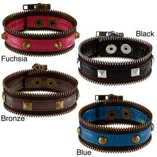 BCBG Zipper Wrap Fashion Bracelet